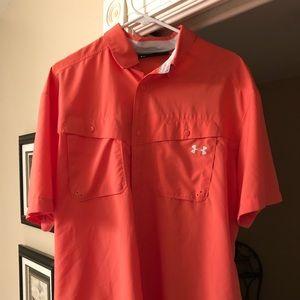 Men's Under Armour fishing shirt